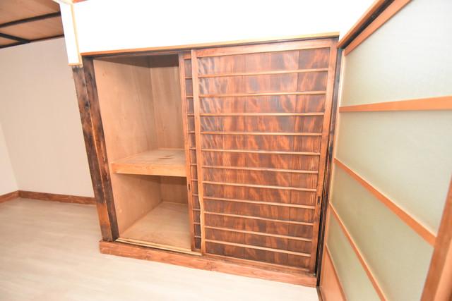 長堂2-16-8 貸家 もちろん収納スペースも確保。いたれりつくせりのお部屋です。