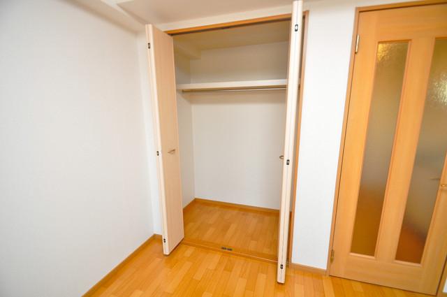 ベル フルール エヌ・エス 収納がたくさんあると、お部屋がすっきり片付きますね。