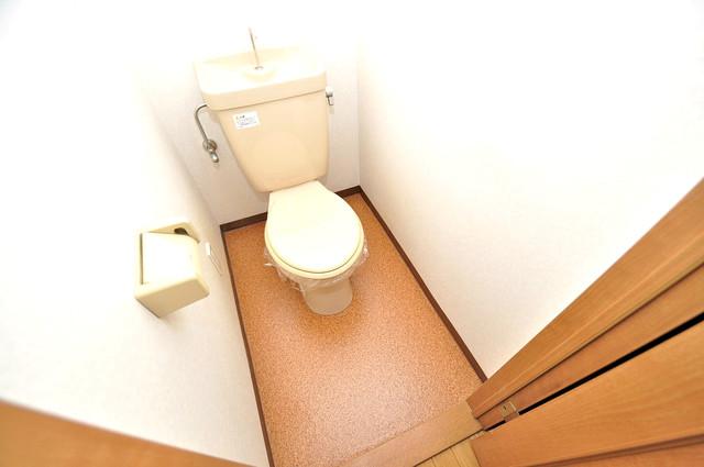 KHビル 清潔感のある爽やかなトイレ。誰もがリラックスできる空間です。