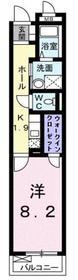 新川崎駅 徒歩22分3階Fの間取り画像