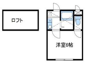 セレベール1階Fの間取り画像