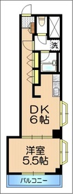 HJフレール5階Fの間取り画像