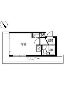 スカイコート横浜弘明寺2階Fの間取り画像