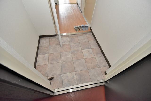 サンオーク タツミ 玄関口が大きいので、とても解放感があります。