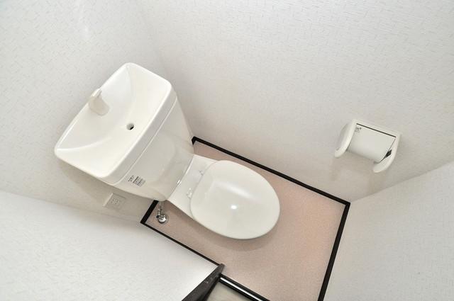レジデンスやまびこ スタンダードなトイレは清潔感があって、リラックス出来ます。