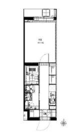 リヴシティ大泉学園1階Fの間取り画像