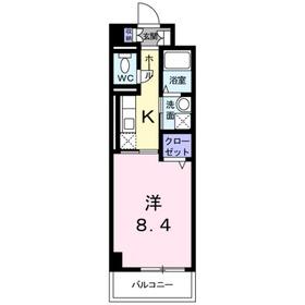 向ヶ丘遊園駅 徒歩13分2階Fの間取り画像