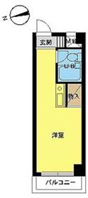 スカイコート入谷3階Fの間取り画像