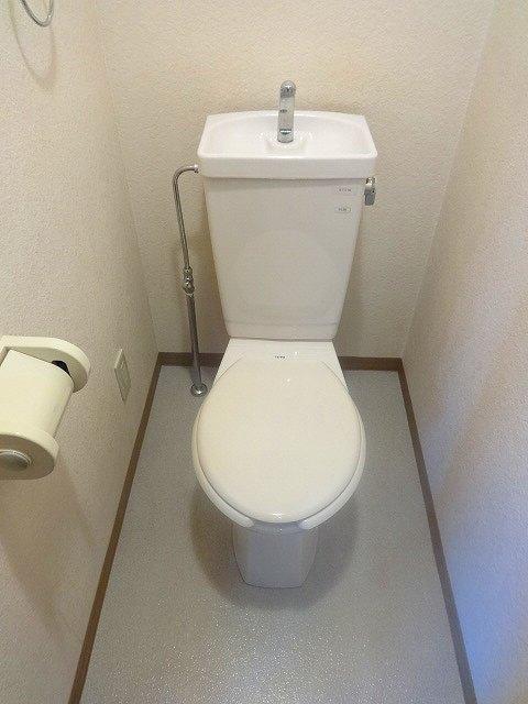 がーでんした・フォレストトイレ