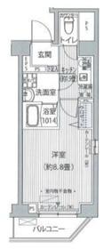 FIORE KOMAGOME1階Fの間取り画像