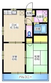 ルーチエ2階Fの間取り画像