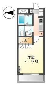川崎駅 徒歩12分2階Fの間取り画像