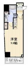 神田駅 徒歩5分12階Fの間取り画像