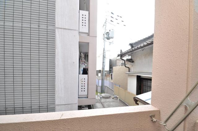 リンクスイン東大阪Part2 この見晴らしが陽当たりのイイお部屋を作ってます。