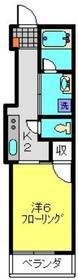 武蔵小杉駅 徒歩15分3階Fの間取り画像