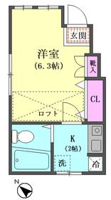 アーバン34 102号室