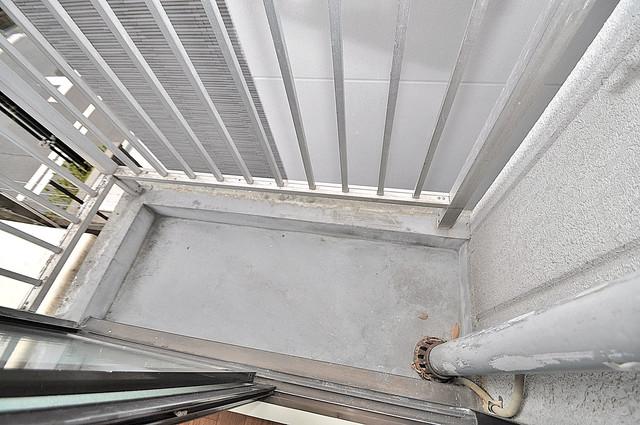 プレステイジ緑橋 バルコニーは陽当たりが良く、洗濯物も気持ち良く乾きます。