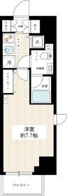 HY's YOKOHAMA Felice4階Fの間取り画像