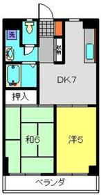 グリーンハイツ南軽井沢1階Fの間取り画像