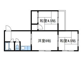 サンモール相模2階Fの間取り画像