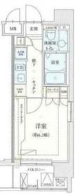 リヴシティ横濱弘明寺8階Fの間取り画像