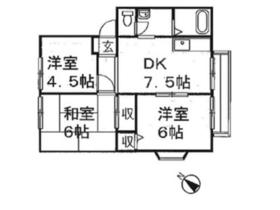 ジョイ福田 B2階Fの間取り画像