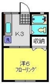 白楽駅 徒歩11分1階Fの間取り画像