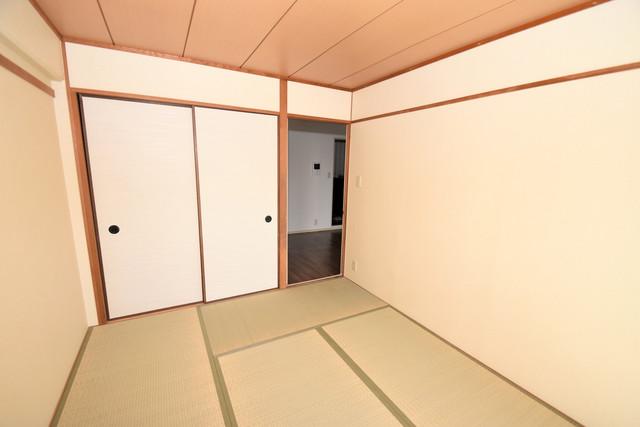 コートドールタツミ もうひとつのくつろぎの空間、和室も忘れてません。