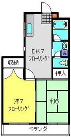 エクシア泉1階Fの間取り画像