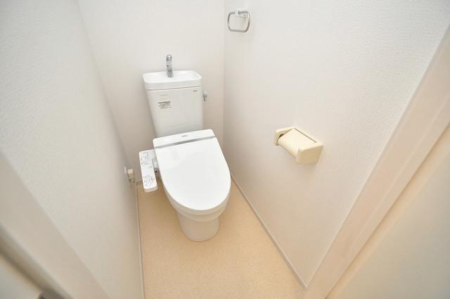 ボスコモンテⅠ スタンダードなトイレは清潔感があって、リラックス出来ます。
