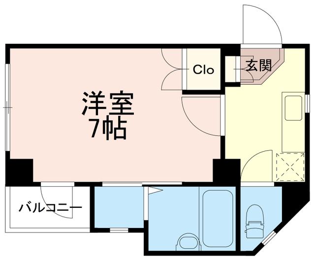 稲城蔵ビル間取図