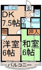 日野駅 徒歩8分1階Fの間取り画像