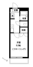 メゾンドセラヴィ2階Fの間取り画像