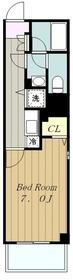 大和ステーションヒルズ弐番館4階Fの間取り画像