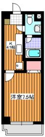 プランタンジュール2階Fの間取り画像
