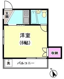 サンハイツIKEGAME 201号室