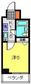 アーバンヒルズ吉野町7階Fの間取り画像