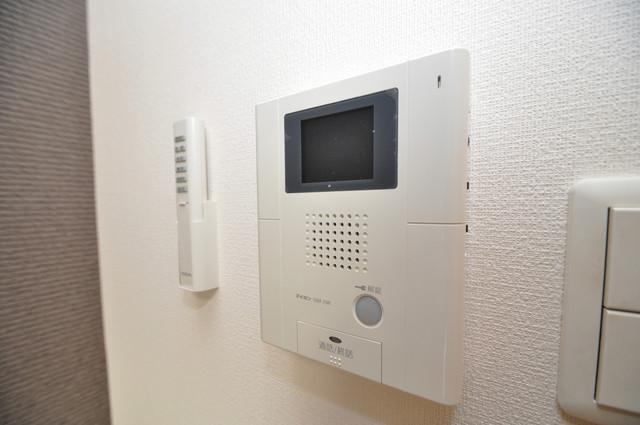 CITY SPIRE布施(ラグゼ布施) TVモニターホンは必須ですね。扉は誰か確認してから開けて下さいね。女性の味方です。