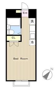 小田急相模原駅 徒歩7分2階Fの間取り画像