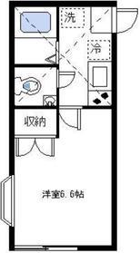 シャンブル日吉2階Fの間取り画像