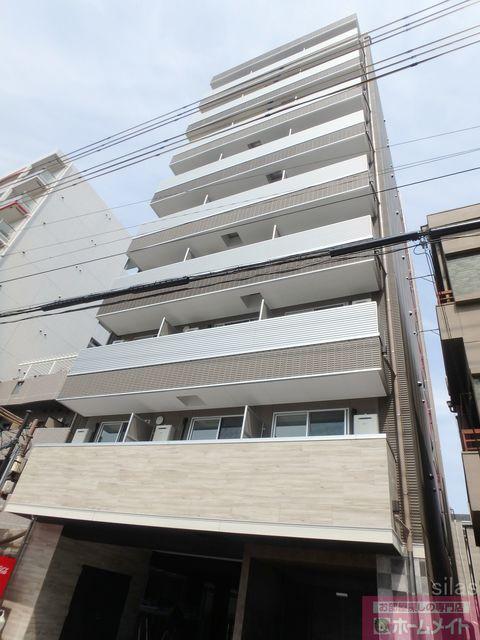 大阪市東住吉区鷹合3丁目の賃貸マンションの外観