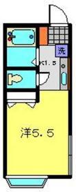 高田駅 徒歩10分1階Fの間取り画像