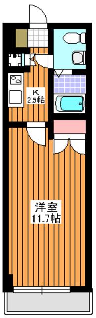 シャルルコート成増間取図