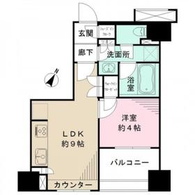 BELISTA 横浜弐番館8階Fの間取り画像