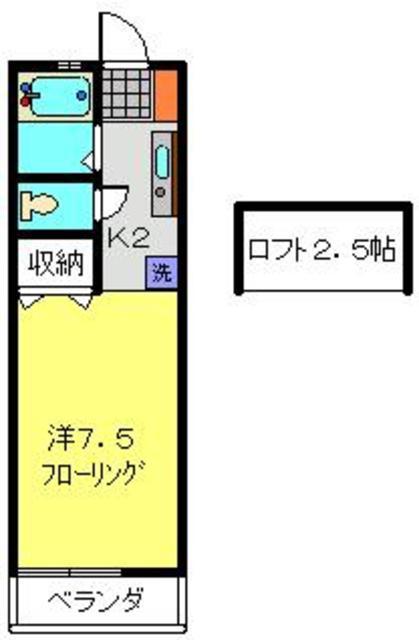 PENINSULA間取図
