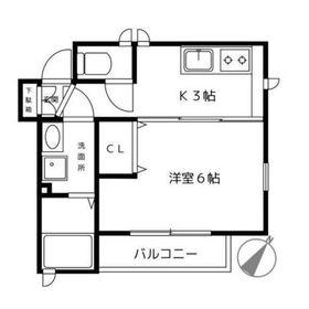 KARIDEA1階Fの間取り画像