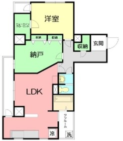 プレシャス イースト5階Fの間取り画像