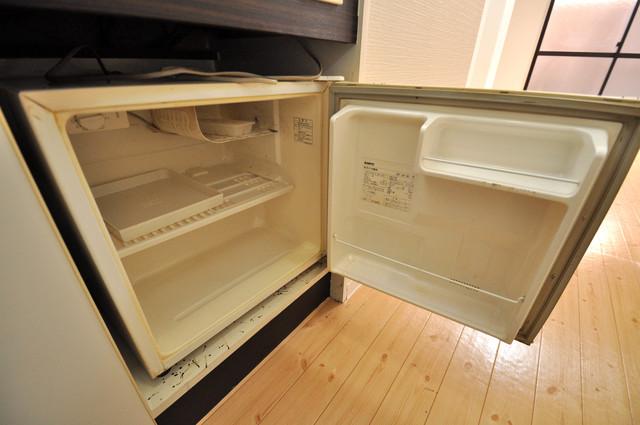 レガーレ布施 ミニ冷蔵庫付いてます。単身の方には十分な大きさです。