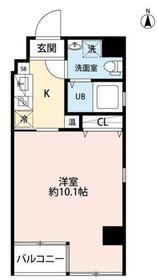 横浜ウエストレジデンス3階Fの間取り画像