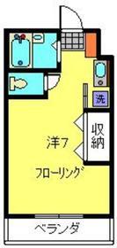 イーストヨコハマレジデンス1階Fの間取り画像